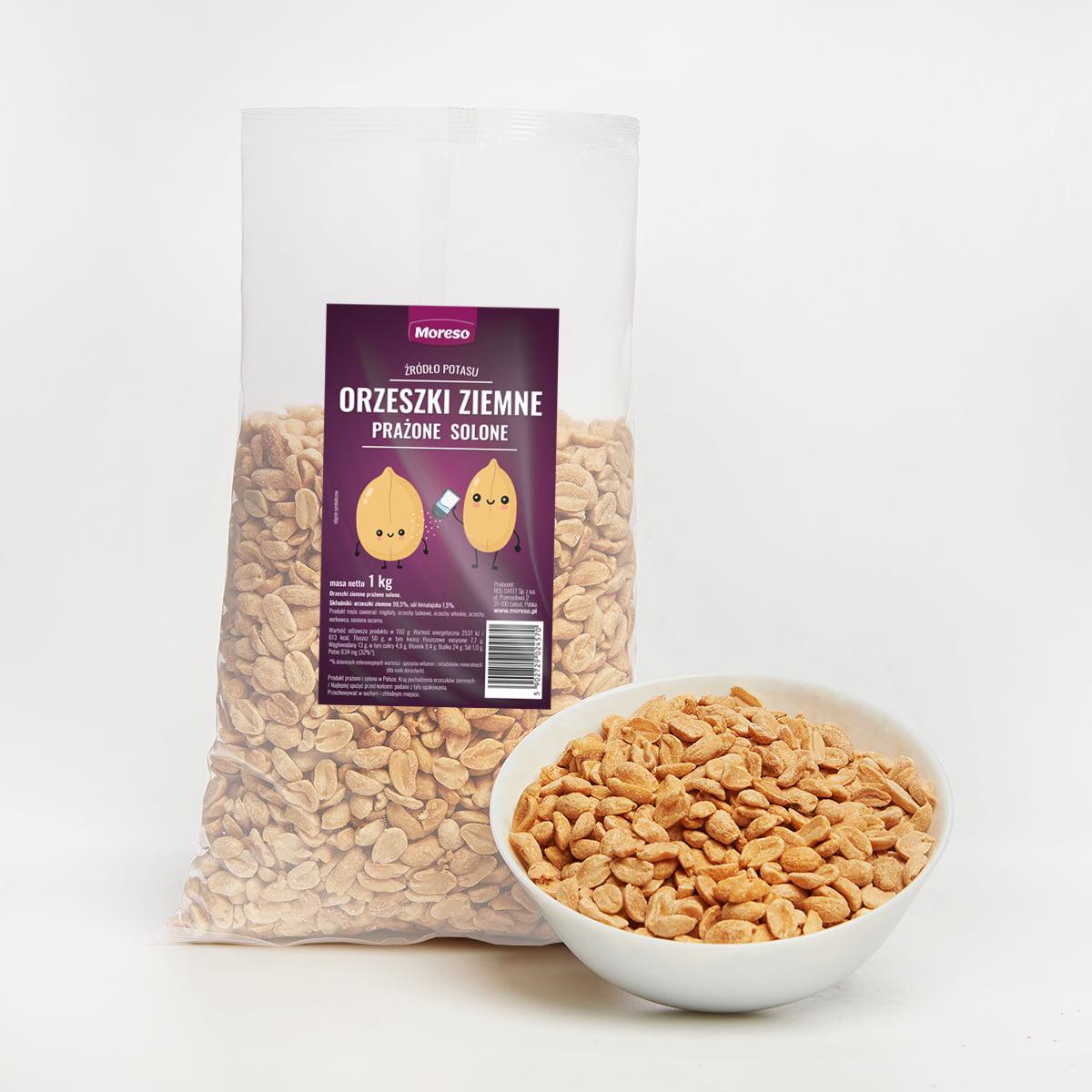 Orzeszki ziemne solone smażone 1 kg