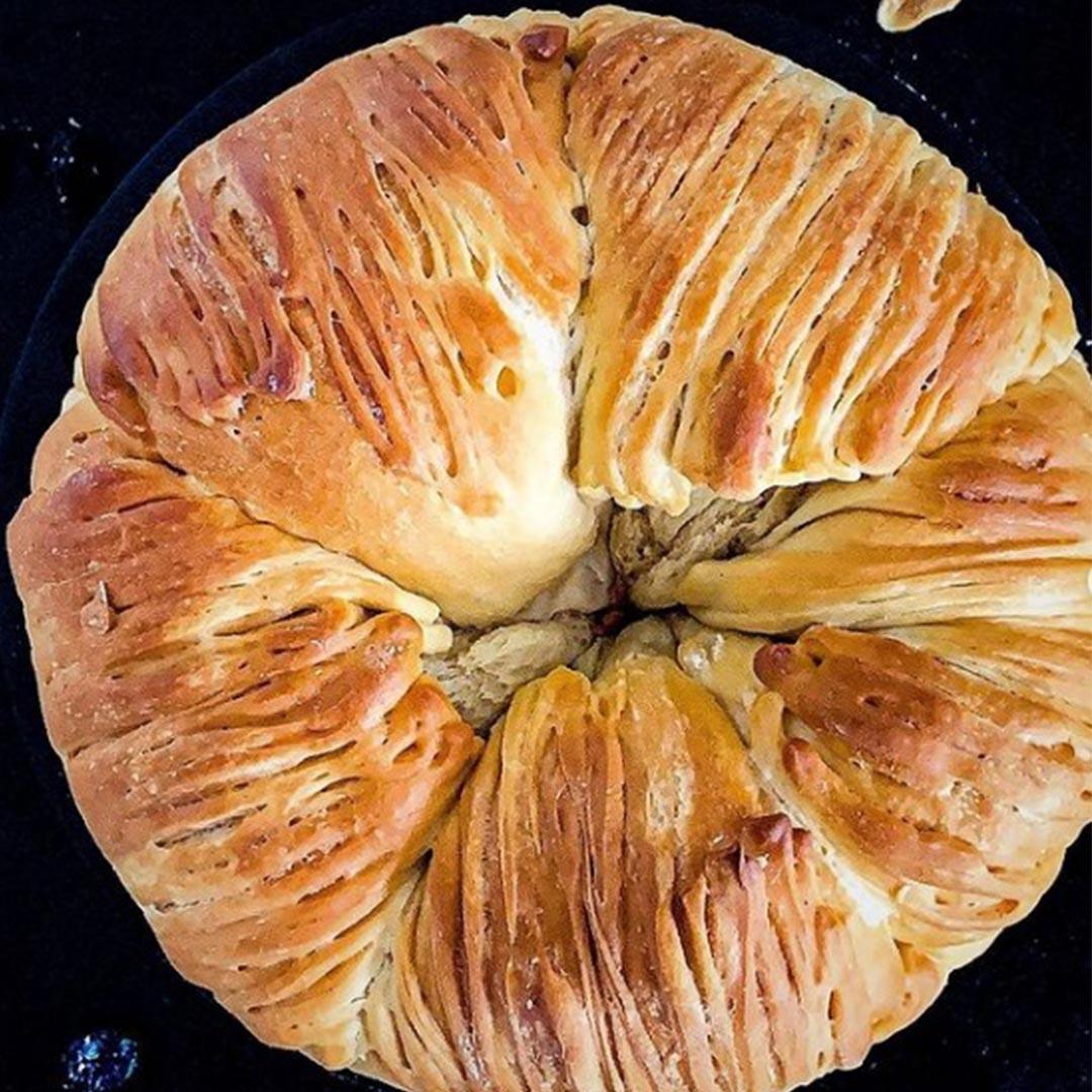 domowy chleb z żurawiną