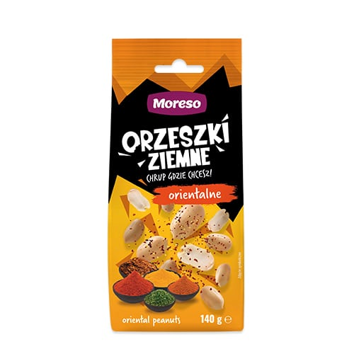 Orzeszki ziemne orientalne 140g