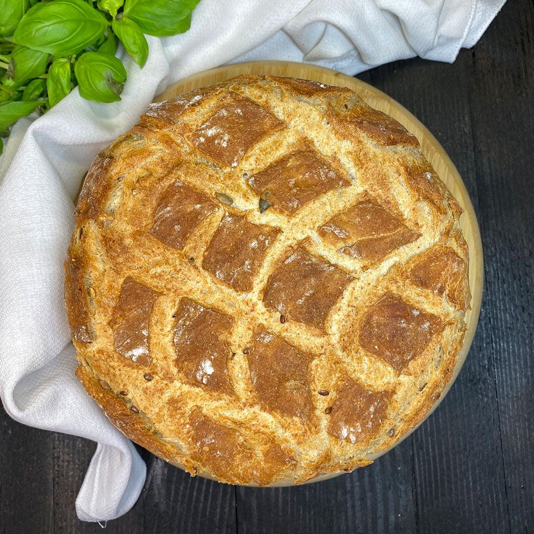 chleb z gara na maślance
